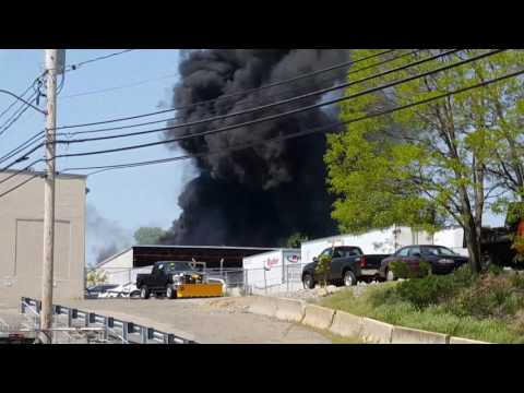 Warehouse Fire Watertown Ma May 17 2017