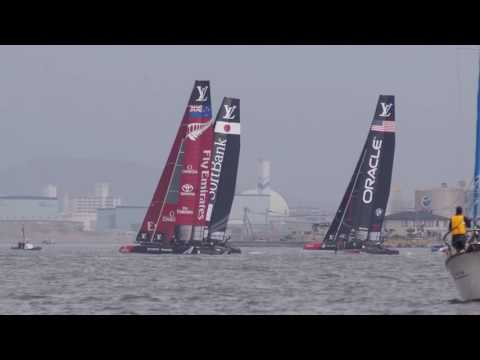 2016.11.19 Louis Vuitton America's Cup World Series Fukuoka (Day 1)