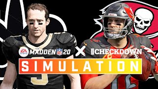 New Orleans Saints vs. Tampa Bay Buccaneers Week 1 Full Game | Madden 2020 Season Simulation