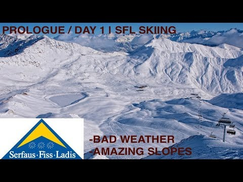 Vlog (Lux-Strasbourg-Basel-Serfaus + A Foggy Start) Prologue / Day 1 | SFL Skiing (V7)