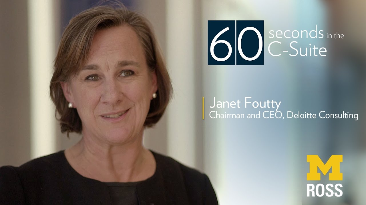 Chairman and CEO of Deloitte Consulting - 60 Seconds in the C-suite
