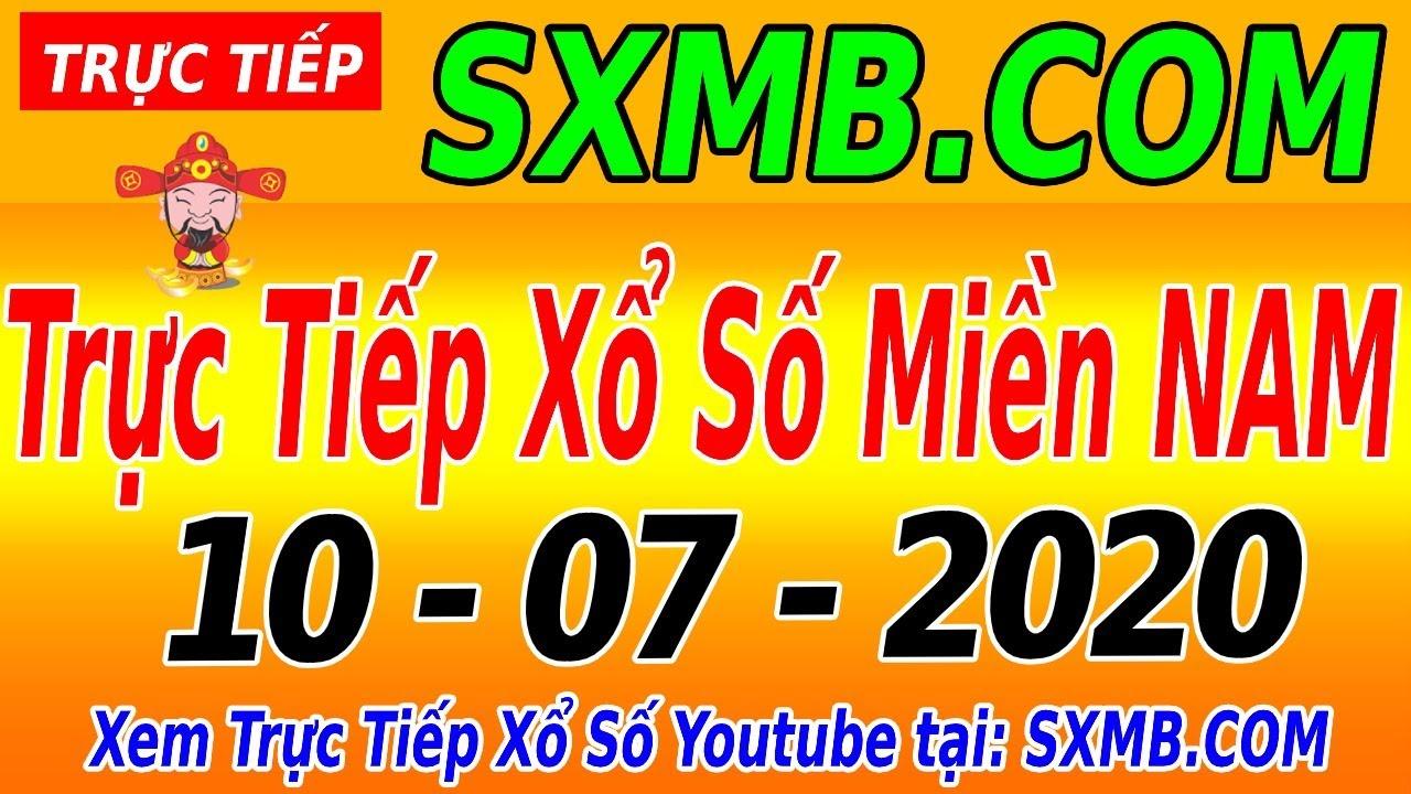 XSMN TRỰC TIẾP XỔ SỐ MIỀN NAM HÔM NAY THỨ 6 NGÀY 10/07/2020, KQXS MIEN NAM