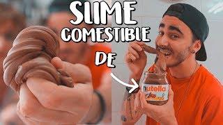 SLIME COMESTIBLE de NUTELLA **muy fácil** | DIY KironVlogs