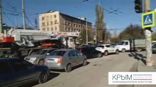 Авария на Балаклавской в Симферополе 12 04