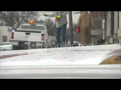 TX:WINTER WEATHER-SLEET IN STEPHENVILLE