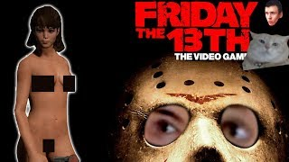 🔴 Friday the 13th: The Game | Пятница 13 | ДЖЕННИ МАЙЕРС ГОЛАЯ В ДУШЕ ОНЛАЙН  🔴