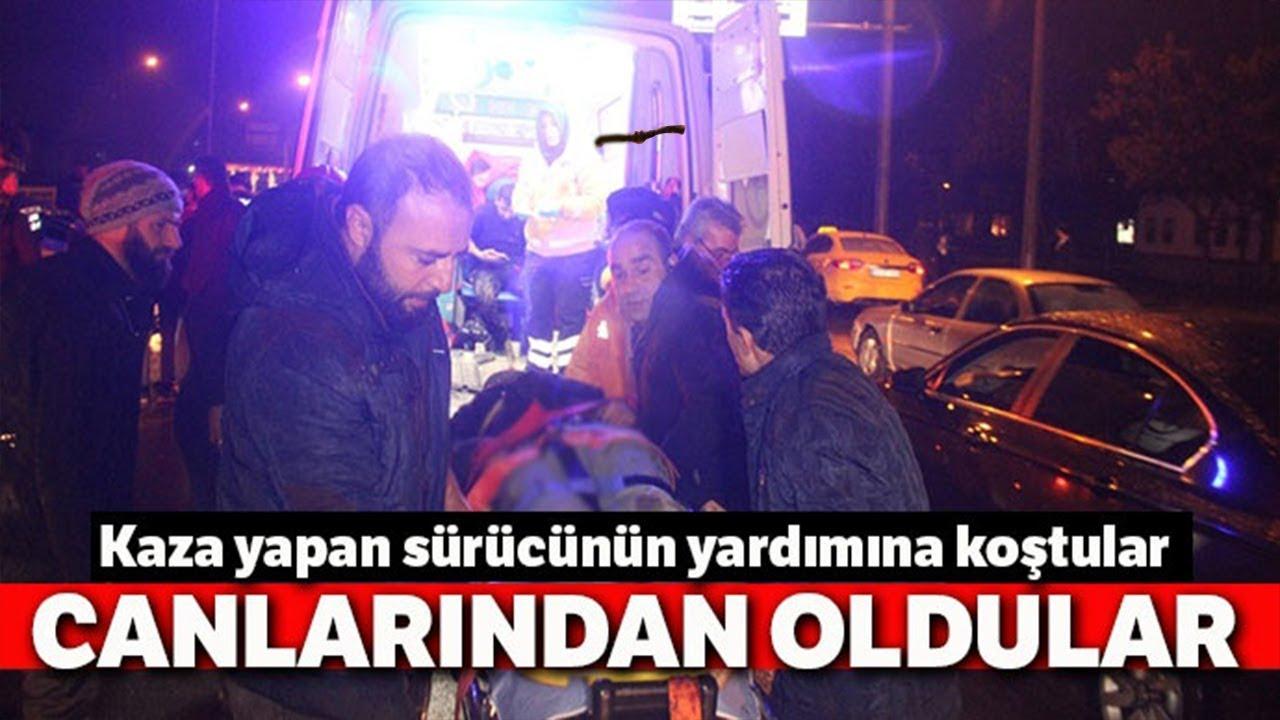 Konya'da Feci Kaza 2 Ölü, 3 Yaralı