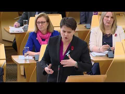First Minister's Questions - 9 November 2017