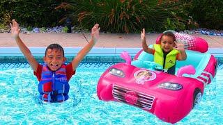 Swimming Song   +More Nursery Rhymes & Kids Songs - Leah Play's Time