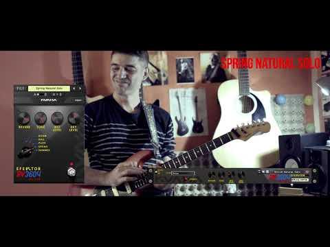 Efektor RV3604 Reverb: Natural Spring Melodic Solo