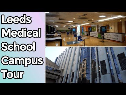 Leeds Medical School Campus Tour (Worsley Building) | Nafi Iftekhar