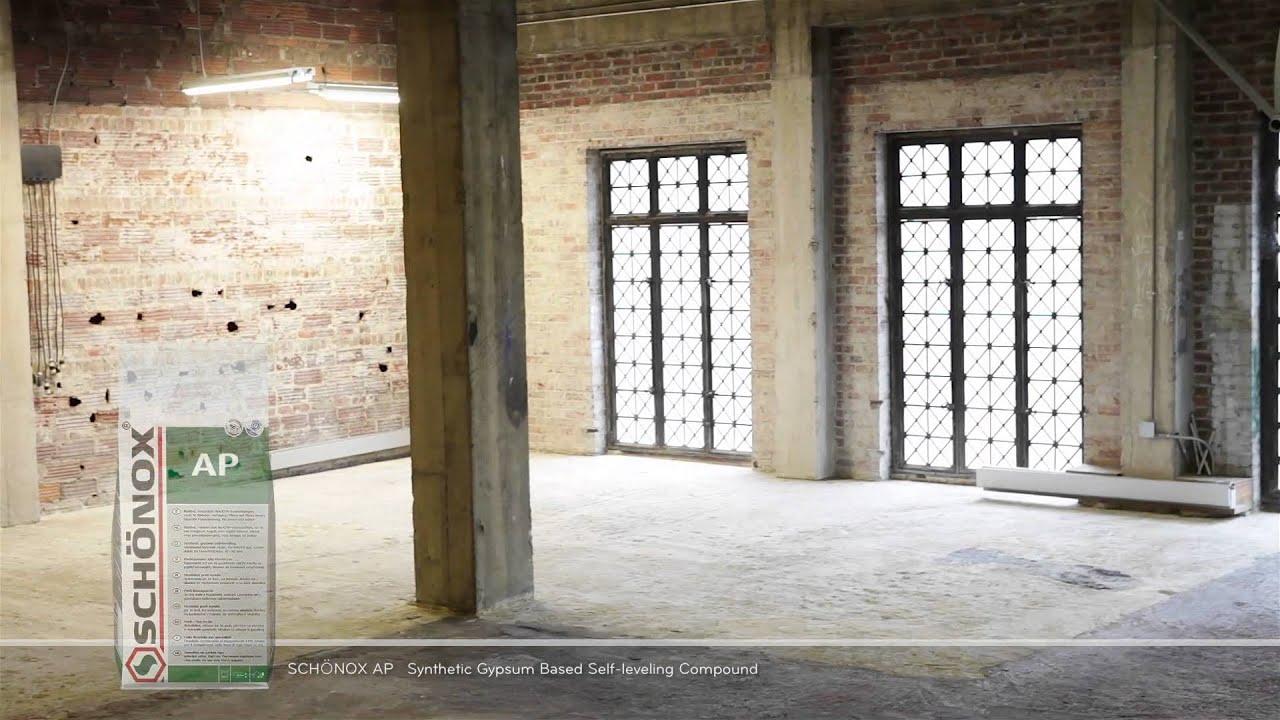 Underlayment In Badkamer : Schonox product installation demonstration youtube