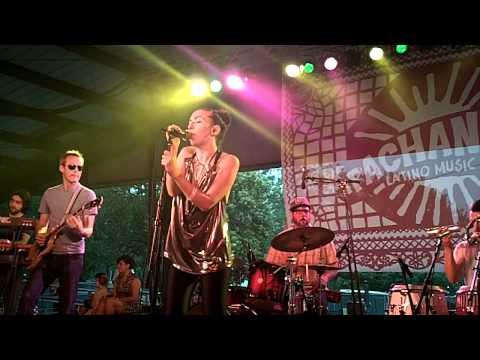 The Echocentrics Perform featuring Natalia Clavier at Pachanga Fest
