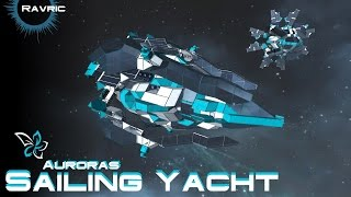 Space Engineers - Auroras Sailing Yacht