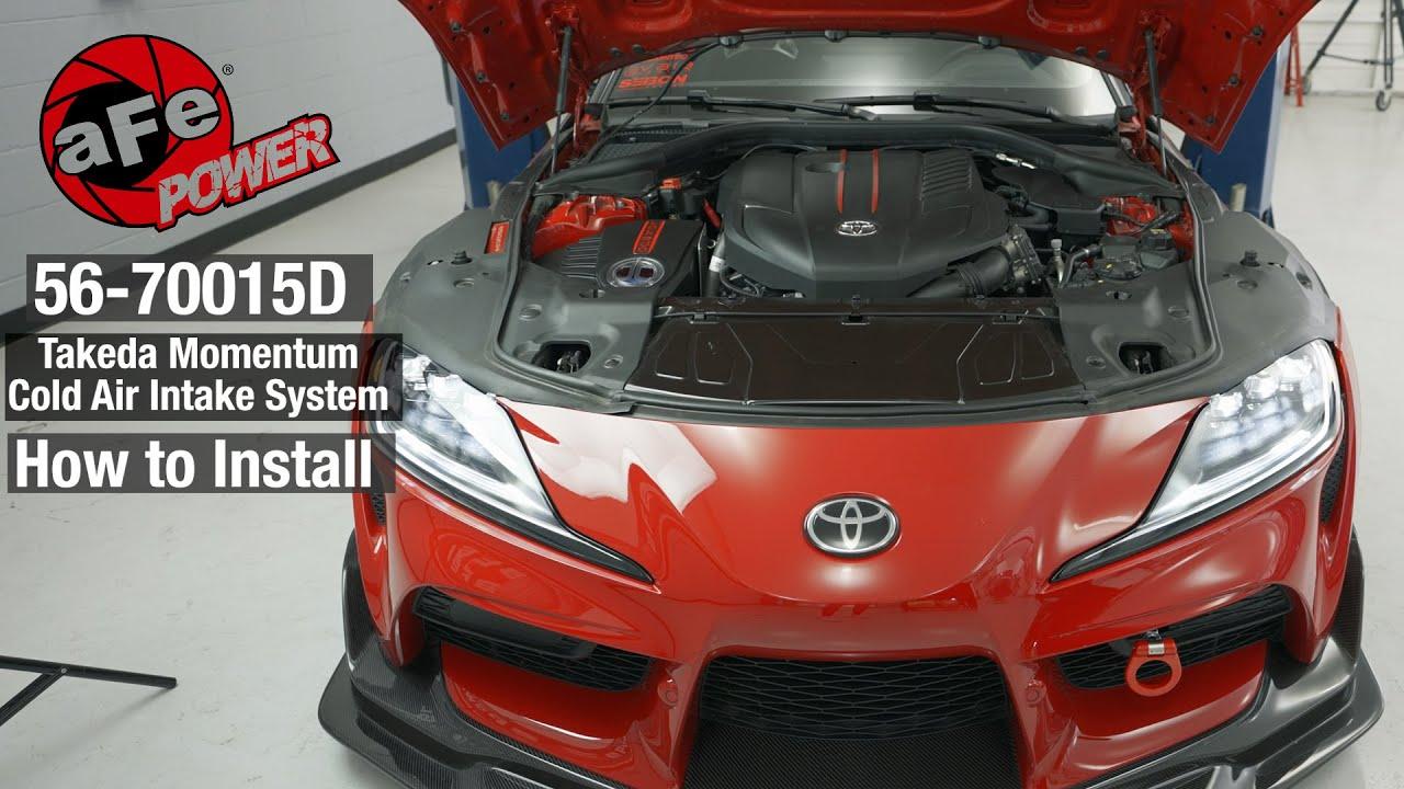 Download aFe POWER Toyota 2020 Supra Takeda Momentum Cold Air Intake System