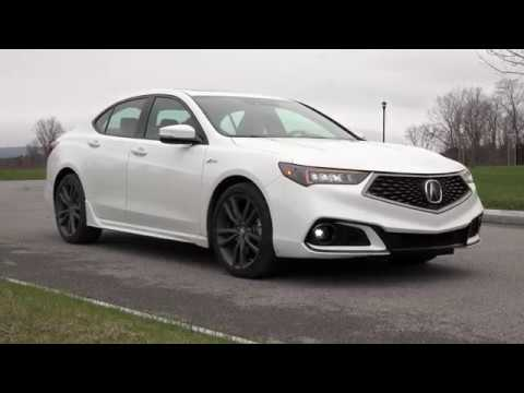 Acura TLX ASpec Full Review With Steve Hammes - 2018 acura tsx accessories