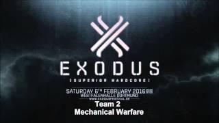 Video EXODUS Festival 2016 - Mechanical Warfare [Team 2] download MP3, 3GP, MP4, WEBM, AVI, FLV November 2018