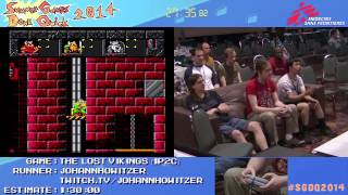 Summer Games Done Quick 2014 - Part 94 - The Lost Vikings