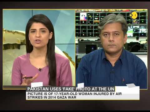 Pakistan uses 'fake' photo to take hit on India at UN