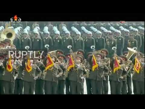 Thumbnail: North Korea: Military parade celebrates birthday of country's founder amid tensions with the US