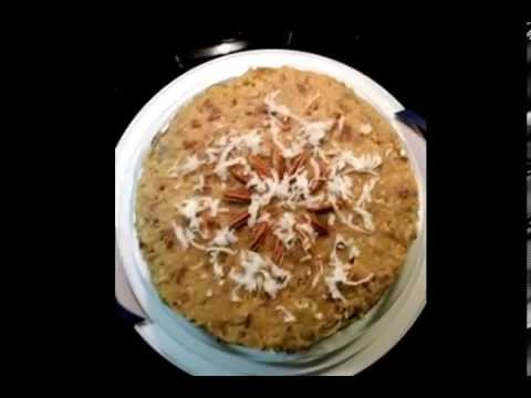 How to Southern Living Style German Chocolate Cake YouTube