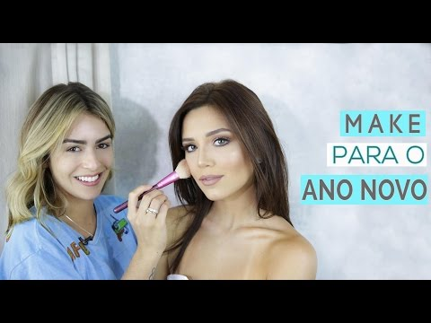 Mari Saad Me Maquiando - Make Pra Festas de Final de Ano