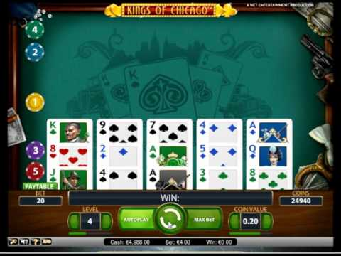 Обзор игрового аппарата Короли Чикаго (kings Of Chicago) - бонусный режим, правила