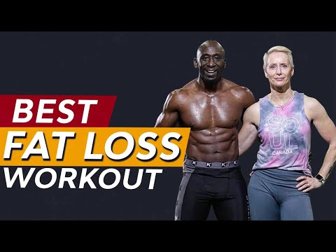 Best Fat Loss Bodyweight Workout (FULL WARM UP AND FOLLOW ALONG WORKOUT)
