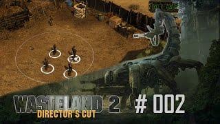 Wasteland 2 Directors Cut #002 - Es geht los (Ranger Schwierigkeit) - Let