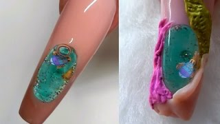 AQUARIUM NAIL .....NEW STYLE -----NEW TYPE ----Must Watch ----- !