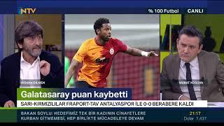 %100 Futbol | Galatasaray - Antalyaspor (2 Ocak 2021)