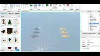 Roblox Studio Battles:Enterprise Carrier VS Katsuragi Carrier