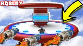 WIE EIN RAFT INTO Ein UFO IN ROBLOX drehen! (FALL DOWN NIAGARA FALLS IN EINEM BARREL)