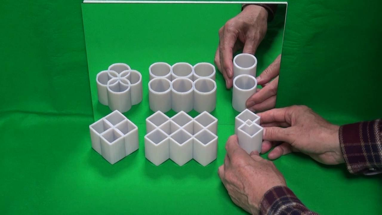 Prostopadłościany, które są cylindrami. Najlepsza iluzja 2016 roku