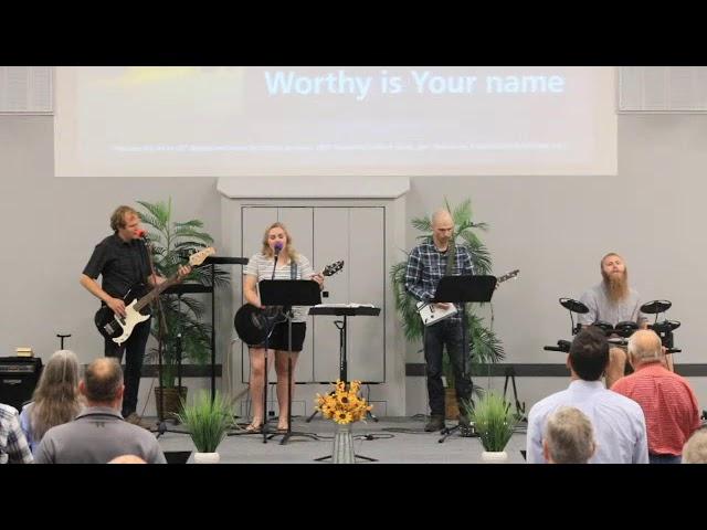 Sunday Worship Service - September 5th, 2021