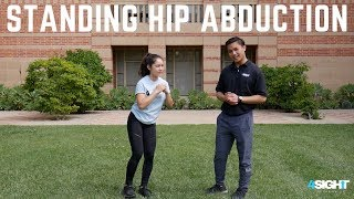 Exercise #6 - Standing Hip Abduction