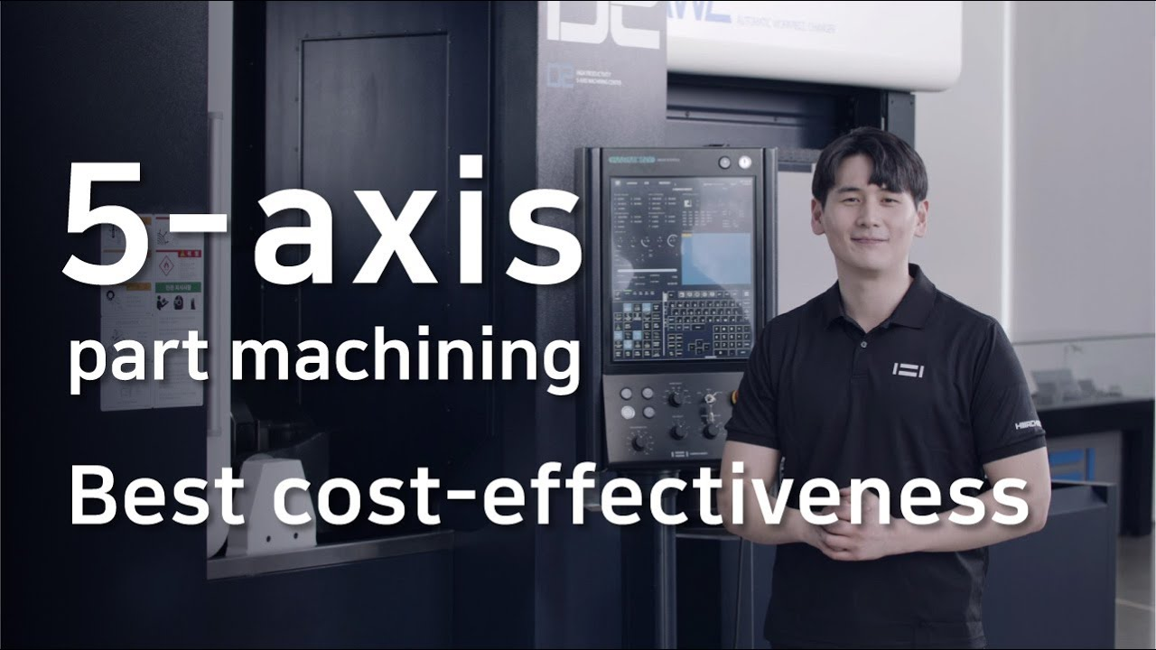 Automation Solutions featuring Hwacheon's D2-5AX and Automatic Workpiece Changer