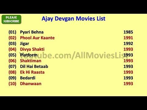 Download Ajay Devgan Movies List