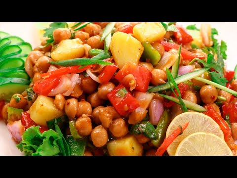 Quick Chana Chat Recipe | How to make Quick Chana Chat by SooperChef