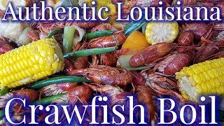 How To Boil An Awesome Cajun Crawfish Boil 2018