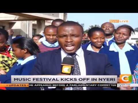 Music festivals underway in Nyeri county #DayBreak