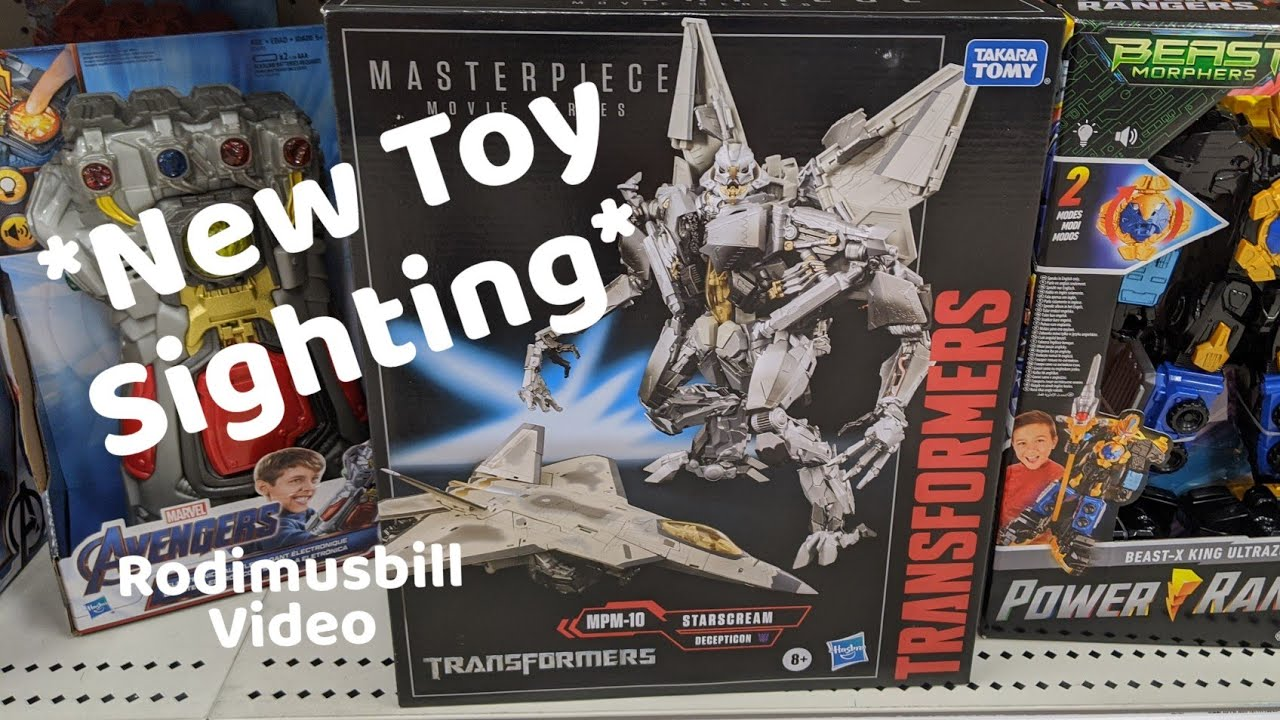 Transformers Masterpiece Movie Series Starscream *In Target Stores Now* By Rodimusbill