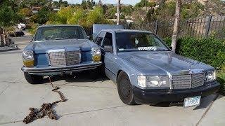 Repeat youtube video Car Wreak W114 VS W201 Mercedes Crashed into Benz Blooper PG