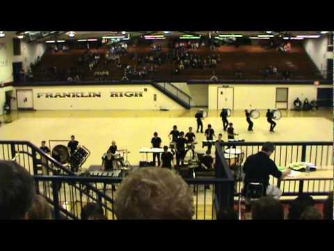 Aurora High School Drumline - Impact 2011