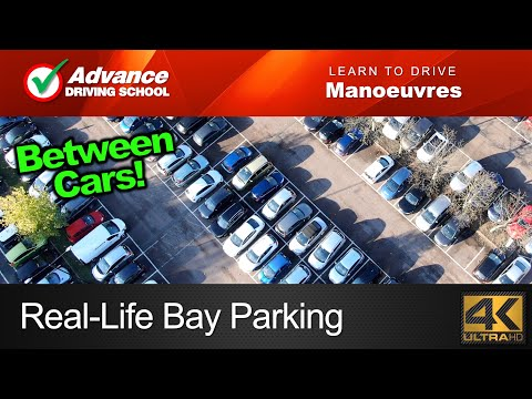 Real-Life Bay Parking (Forward & Reverse) | Learn to drive: Manoeuvres