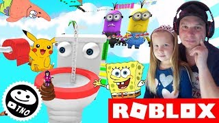 best JUMP'N RUN GAME on ROBLOX-an OBBY   Roblox   Daddy and Yohana CZ/SK