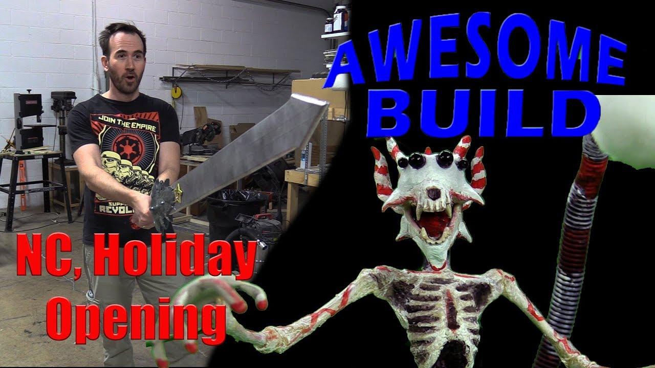 Nostalgia Critic Christmas Opening - Awesome Build - YouTube