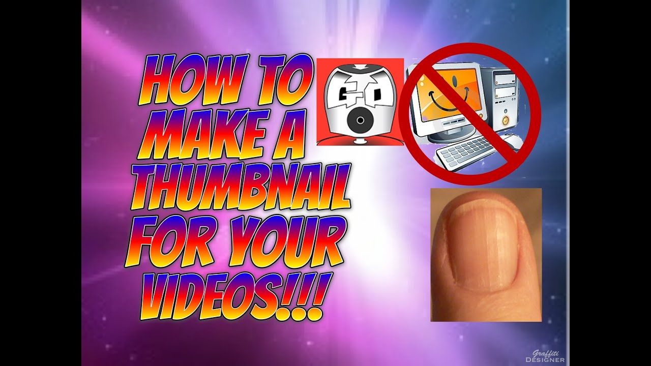 how to choose the thumbnail for youtube video