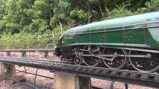 "5"", 7.25"" & Gauge 1 Pacifics Playday Nottingham SMEE 2014"