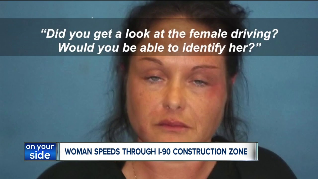 Woman leads police on a wild 100 mph chase through a Lake County construction zone